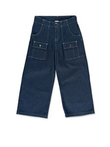 Chloé - Wide blue jeans