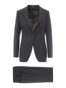 Tagliatore - Abby wool blend suit in grey