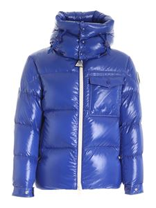 Moncler - Vignemale blue down jacket