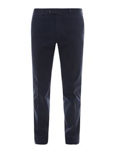 PT Torino - Slim fit trousers in blue