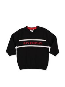 Givenchy - Black sweater with inlay