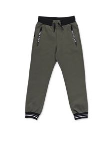Givenchy - Heat-sealed zips pants in green