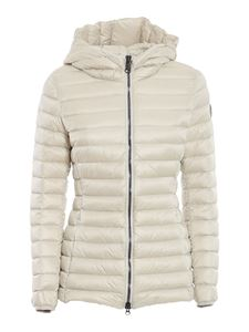 Colmar Originals - Hooded quilted puffer in white