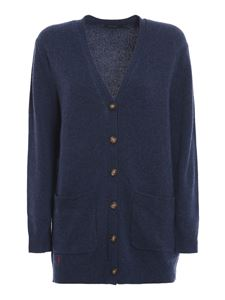 POLO Ralph Lauren - Wool blend cardigan in blue