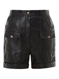 Philosophy di Lorenzo Serafini - Shorts in similpelle neri