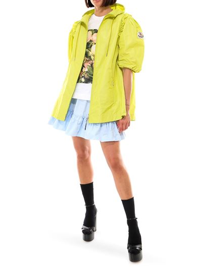 Moncler - Giacca impermeabile Pansy giallo