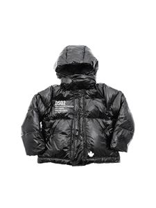 Dsquared2 - Painted effect down jacket in black