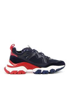 Moncler - Sneakers Leave No Trace blu