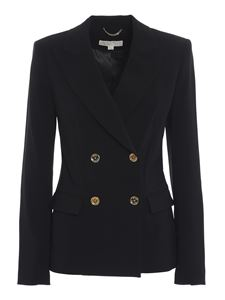 Michael Kors - Double-breasted cady jacket in black
