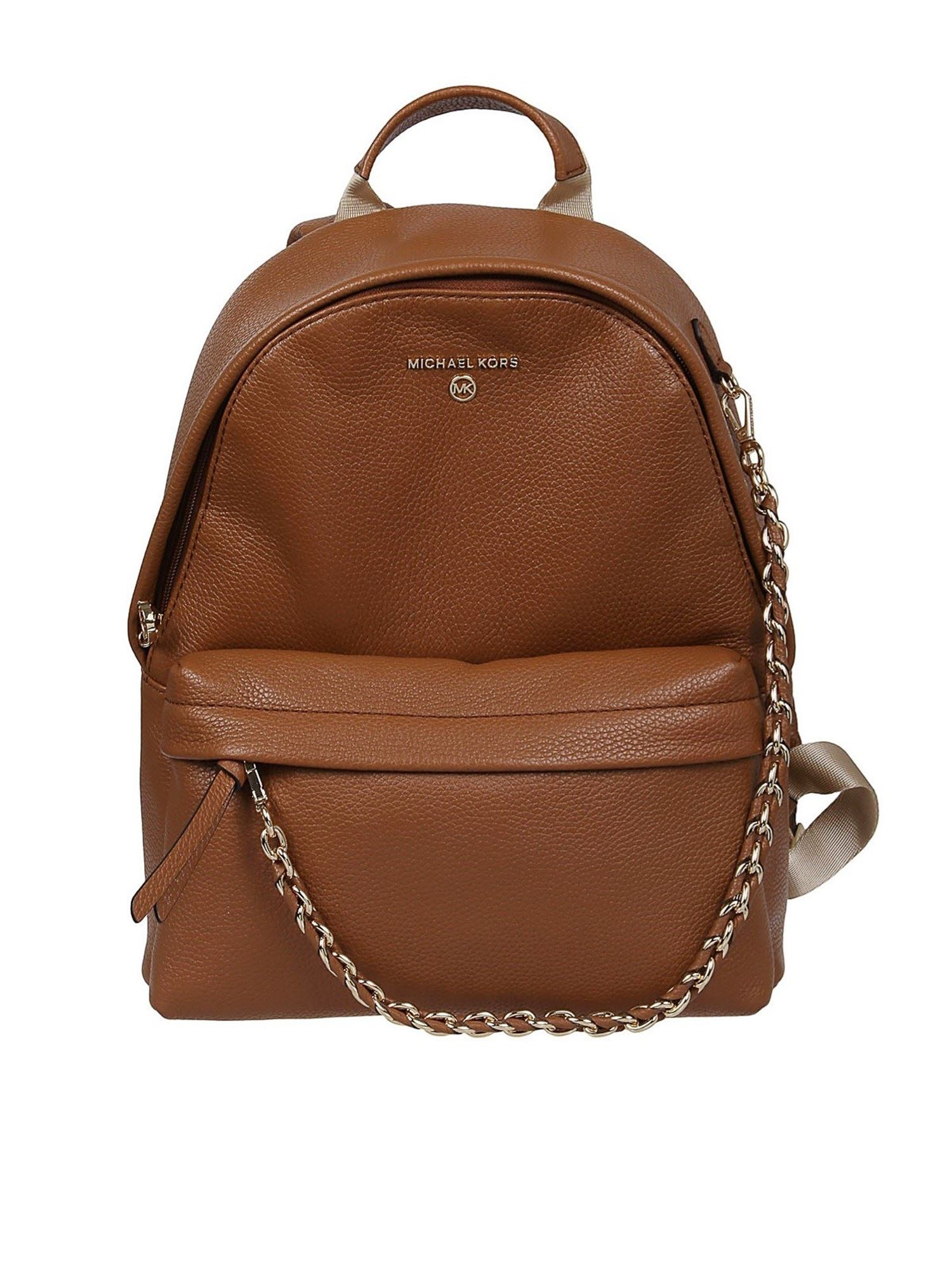 Michael Kors SLATER MEDIUM BACKPACK IN BROWN