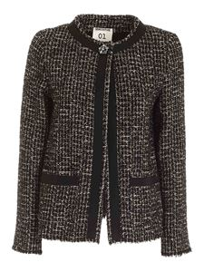 Semicouture - Violaine jacket in black and white