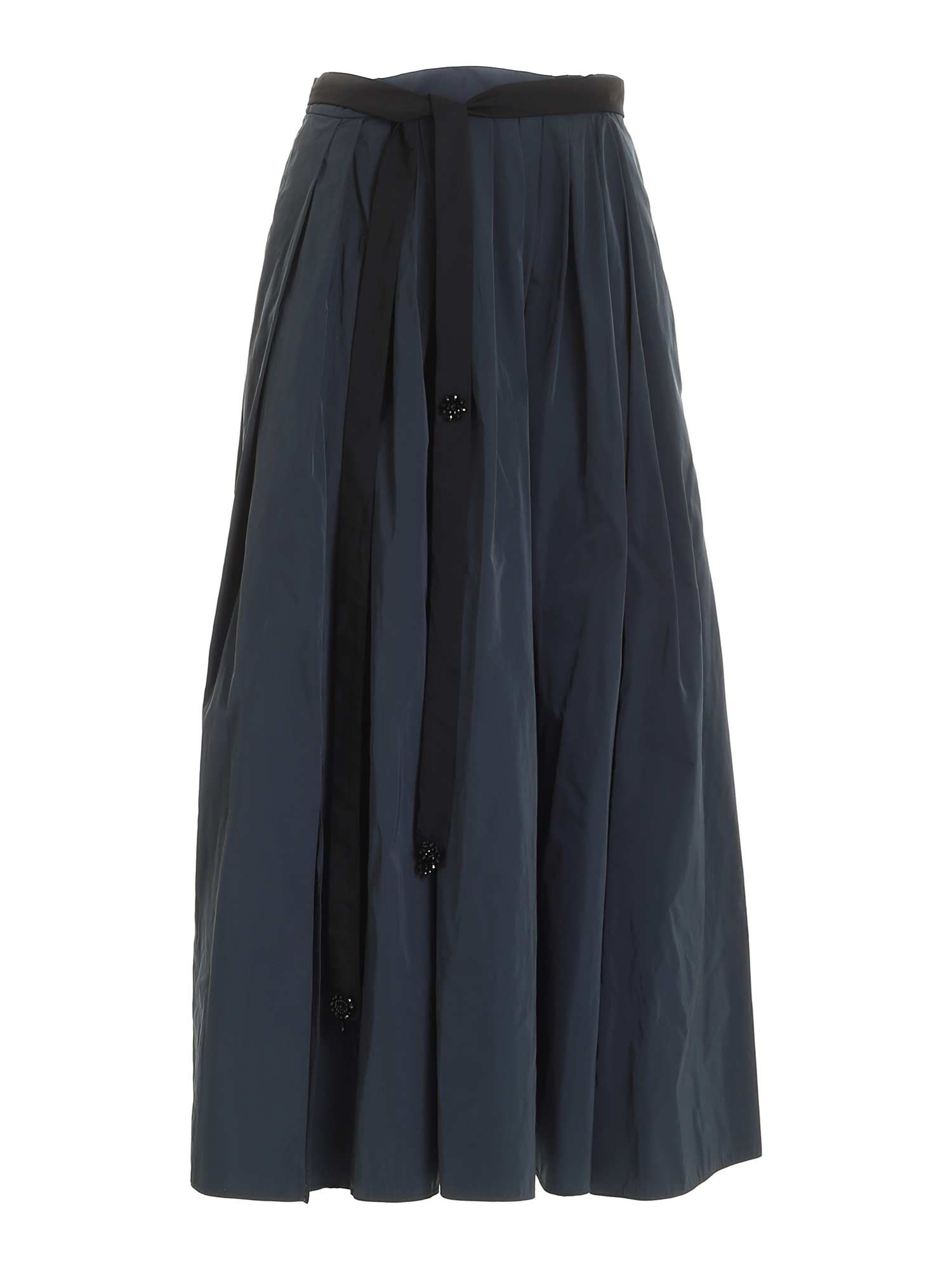 Max Mara ASKIRT SKIRT IN DARK GREEN