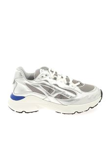 Tod's - Run 54C sneakers in silver color