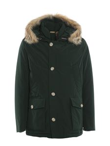 Woolrich - Artic Anorak padded parka in green