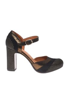 Chie Mihara - Delia ankle strap shoes in black