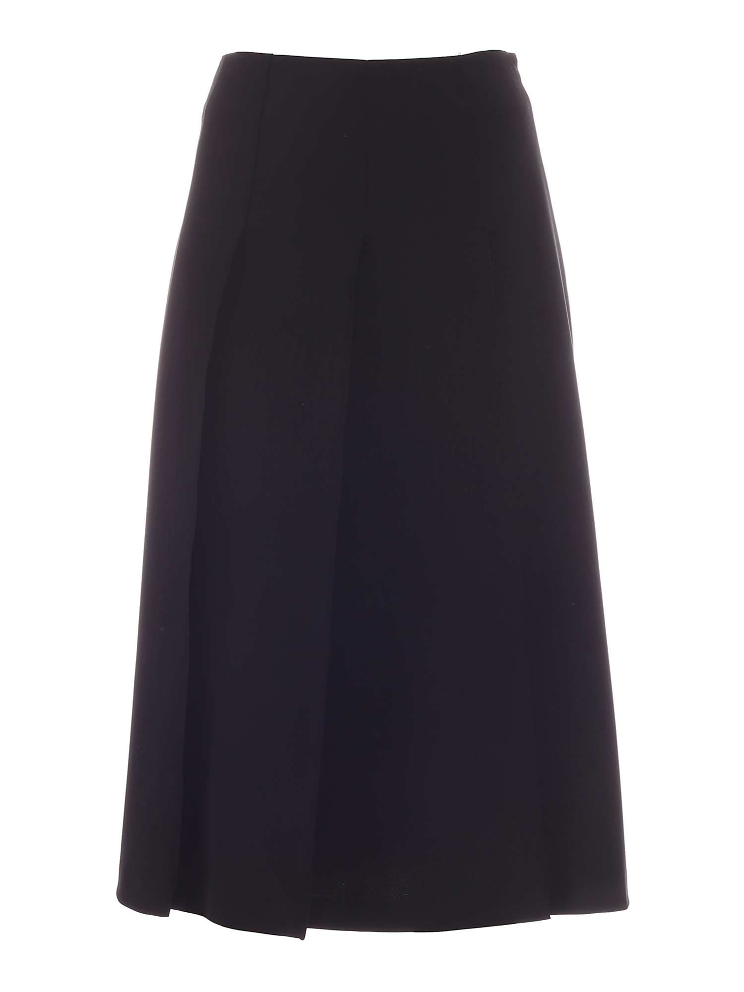 Vivetta PLEATED SKIRT IN BLACK