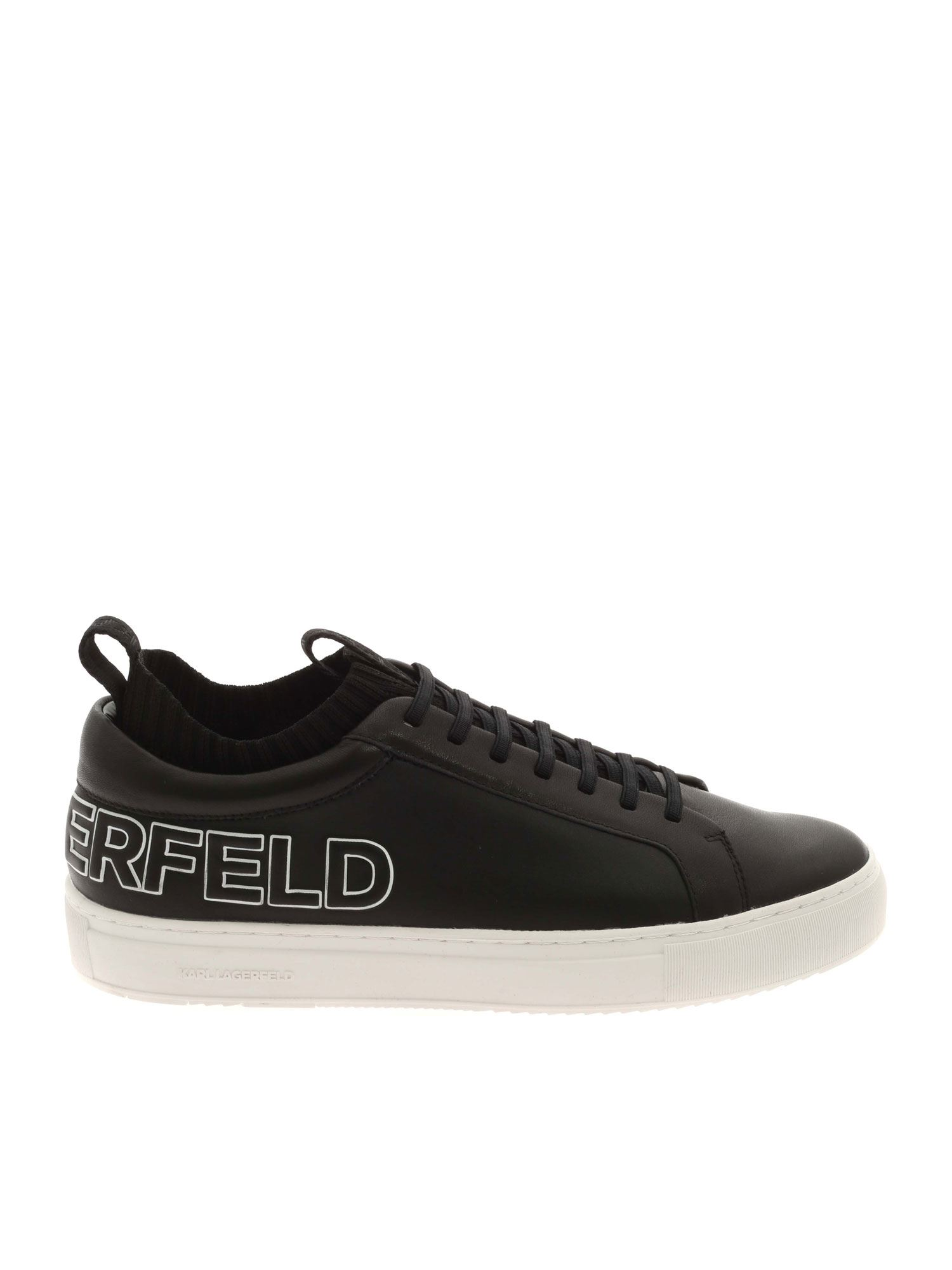 Karl Lagerfeld KUPSOLE TRACER SNEAKERS IN BLACK