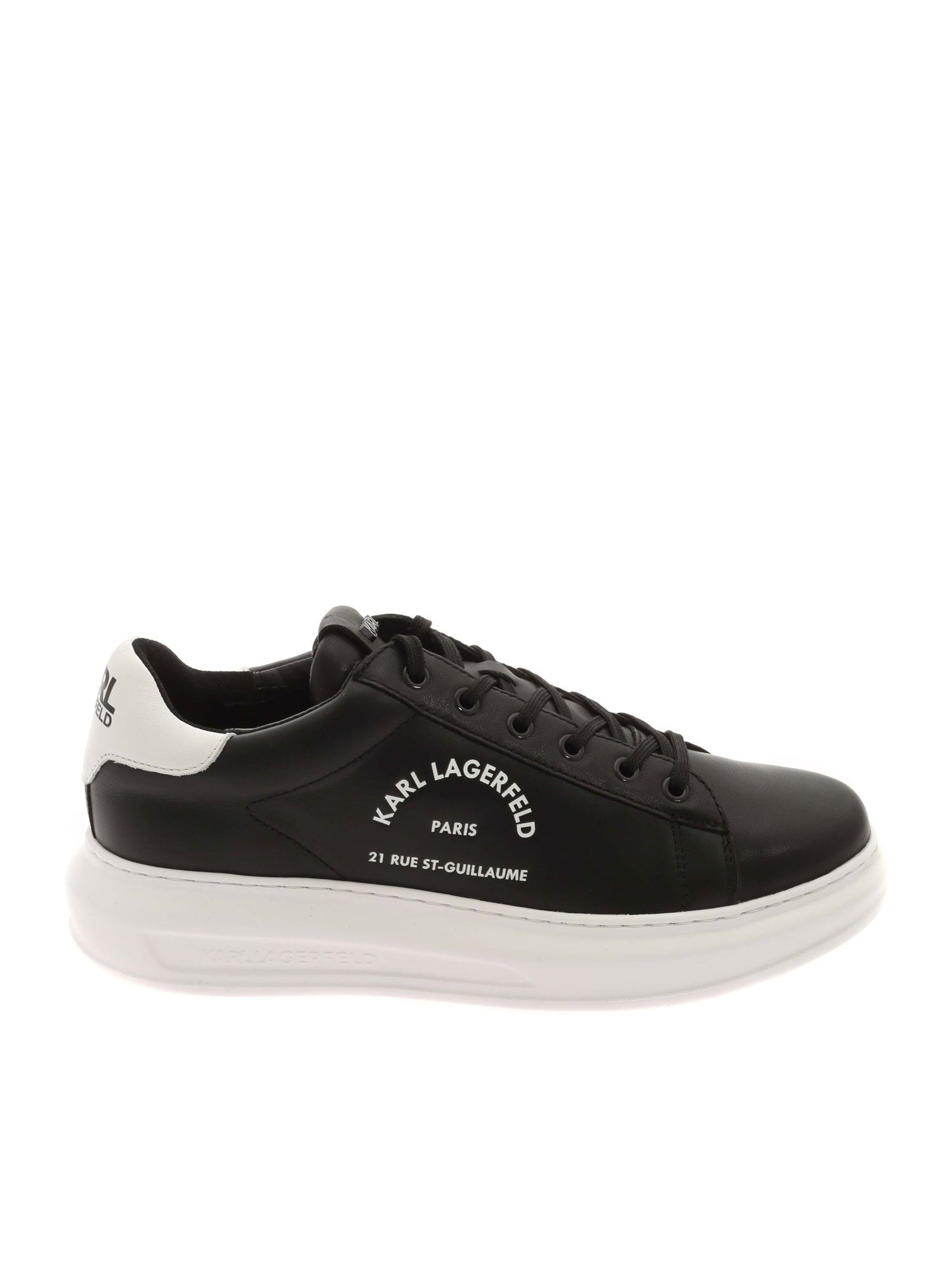 Karl Lagerfeld KAPRI SNEAKERS IN BLACK