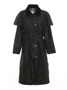 Barbour - Trench Trudie verde