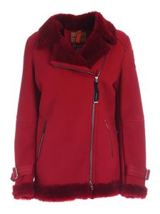 Parajumpers - Giacca Eden shearling bordeaux
