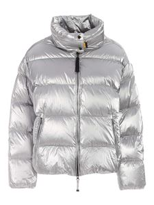 Parajumpers - Pia quilted down jacket in silver color