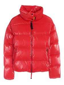 Parajumpers - Pia quilted down jacket in red