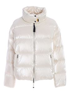 Parajumpers - Pia quilted down jacket in white