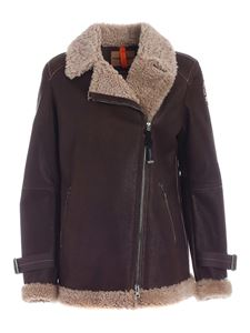 Parajumpers - Eden shearling jacket in brown