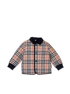 Burberry - Vintage check quilted jacket