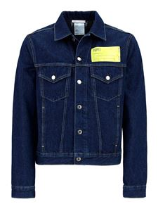 Helmut Lang - Industry Masc Big Trucker denim jacket in blue