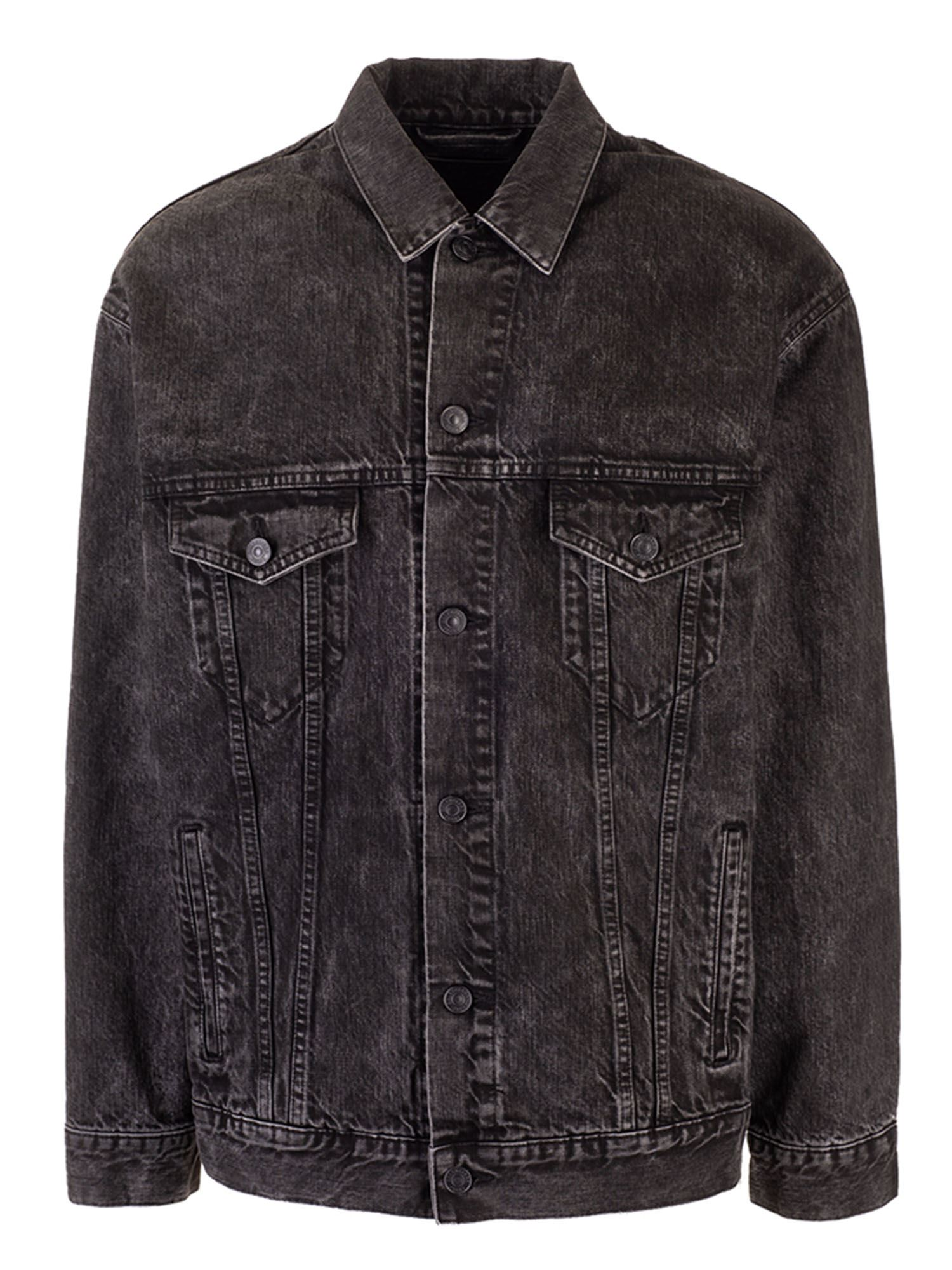 Balenciaga CHARCOAL DENIM JACKET