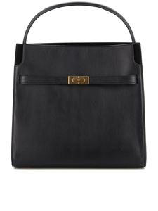 Tory Burch - Double Lee Radziwill shoulder bag in black