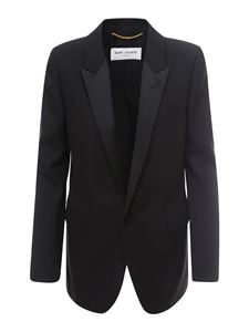 Saint Laurent - Blazer Le Smoking nera