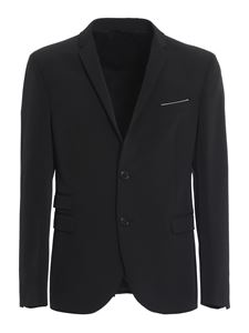 Neil Barrett - Stretch cady suit in black