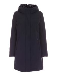Woolrich - Boulder stretch parka in blue
