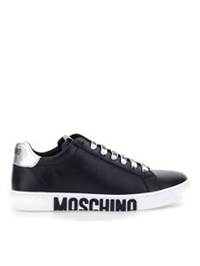 Moschino - Sneakers in pelle nera