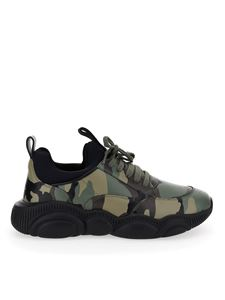 Moschino - Sneakers Teddy Run camouflage