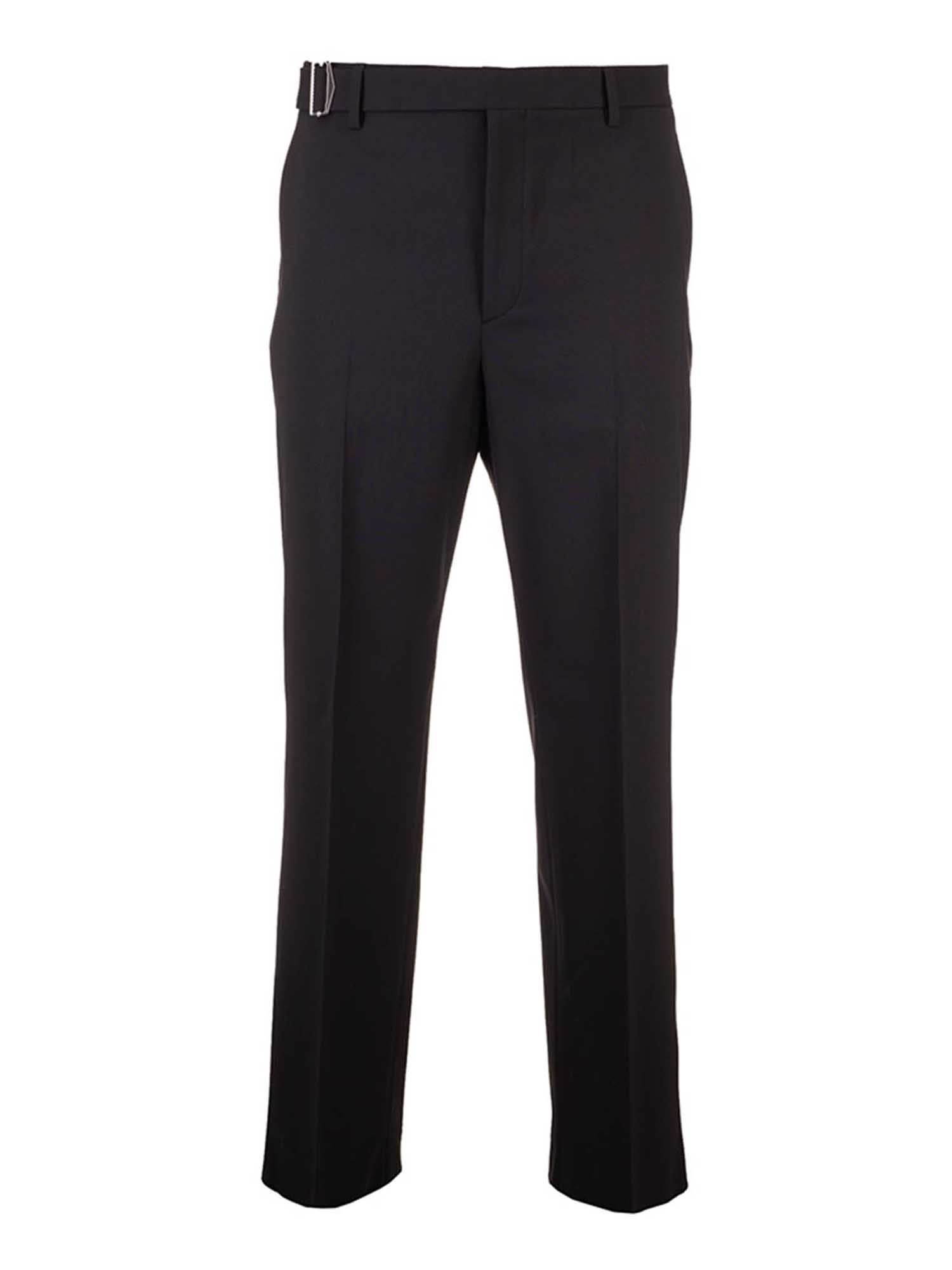 Valentino BELT PANTS IN BLACK