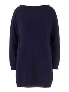 Valentino - Cashmere long sweater in blue