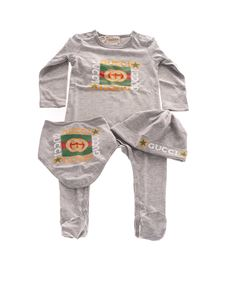 Gucci - Romper set in grey