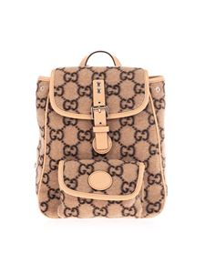 Gucci - GG backpack in beige