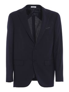 Boglioli - Hopsack suit in blue