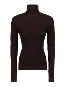 Dolce & Gabbana - Cotton turtleneck in brown