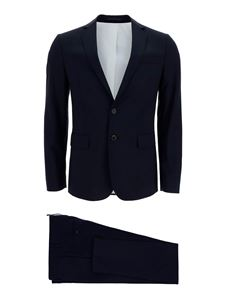 Dsquared2 - Wool suit in blue