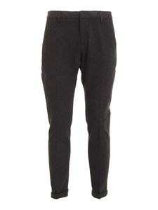 Dondup - Pantalone Gaubert color antracite