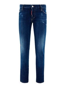 Dsquared2 - Faded denim jeans in blue