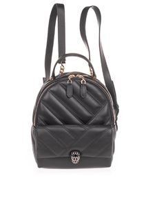Bulgari - Serpenti Cabochon backpack in black