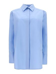Givenchy - Cotton shirt in light blue