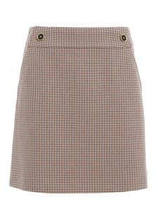 Tory Burch - Plaid mini skirt in multicolor