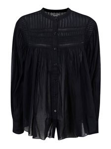 Isabel Marant - Ruches shirt in black